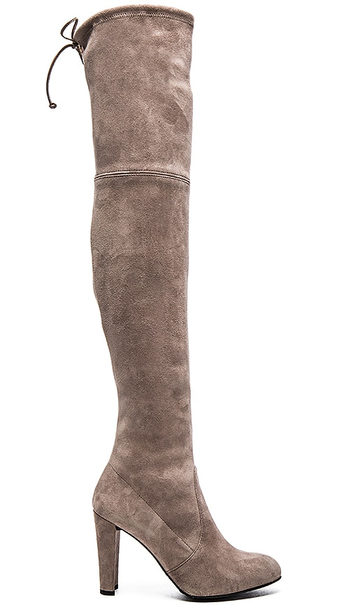 Stuart Weitzman Highland Boot in Gray