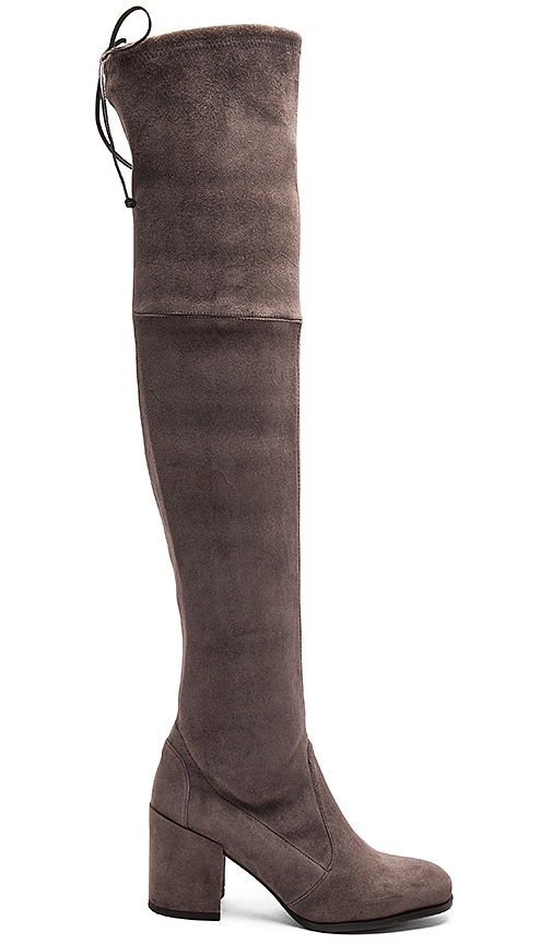 Stuart Weitzman Tieland Boot in Charcoal
