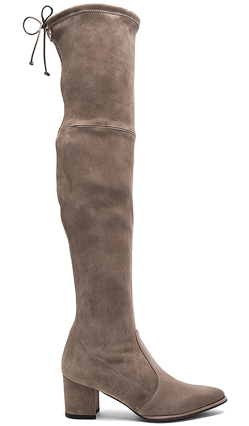Stuart Weitzman Thighland Boot in Neutral