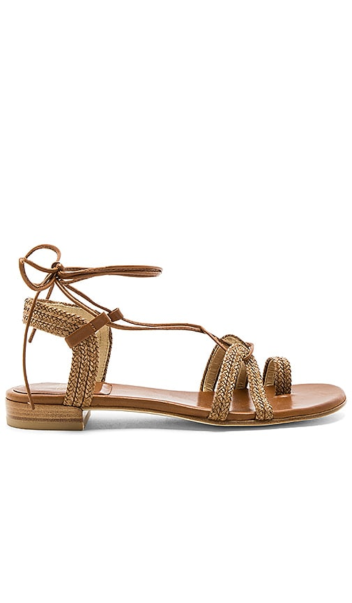 Stuart Weitzman Looping Sandal in Brown