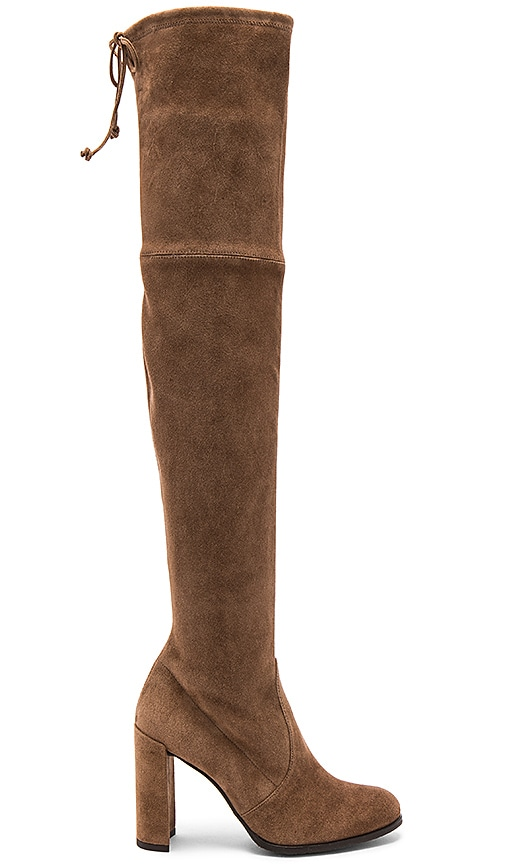 Stuart Weitzman Highline Boot in Tan
