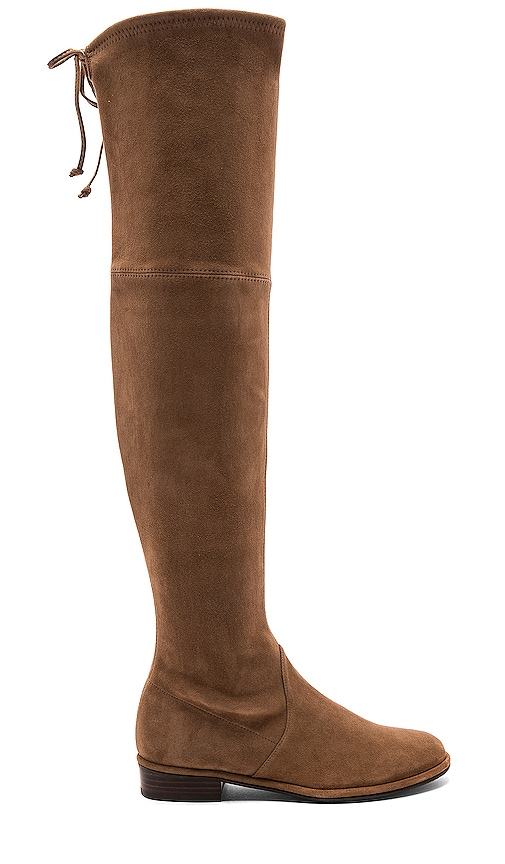 Stuart Weitzman Lowland Boot in Brown