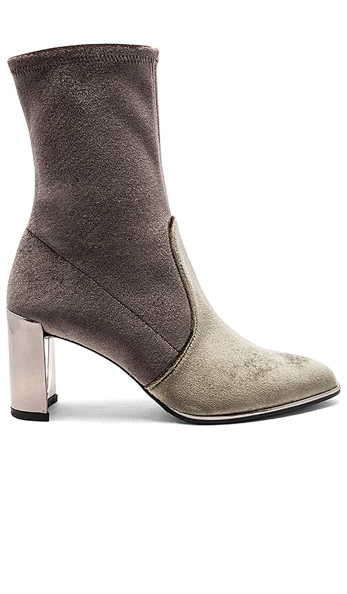 Stuart Weitzman Prancer Bootie in Gray