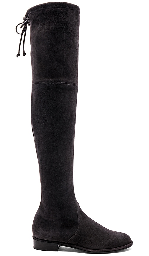 Stuart Weitzman Lowland Boot in Charcoal
