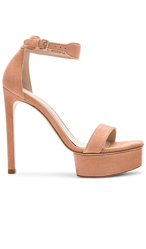Stuart Weitzman Backup Heel in Neutral