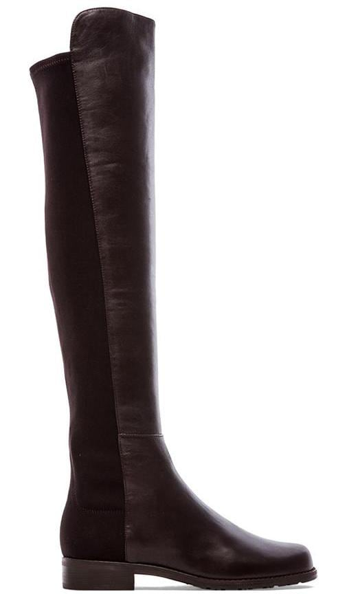 Stuart Weitzman 5050 Stretch Leather Boot in Brown