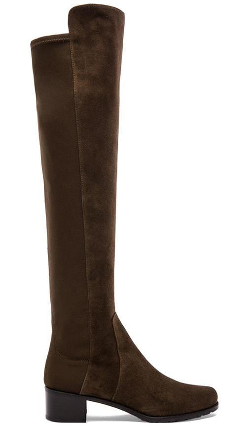 6acf241438 Reserve Stretch Suede Boot. Reserve Stretch Suede Boot. Stuart Weitzman