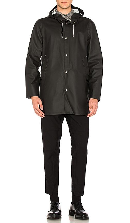 Stutterheim Stockholm Jacket in Black & Svart