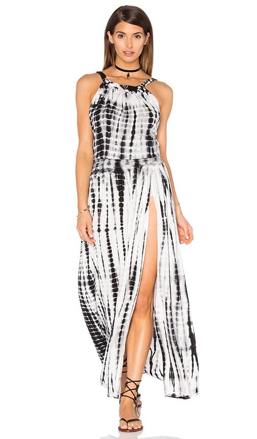 Stillwater Gypsy Dress in Black & White