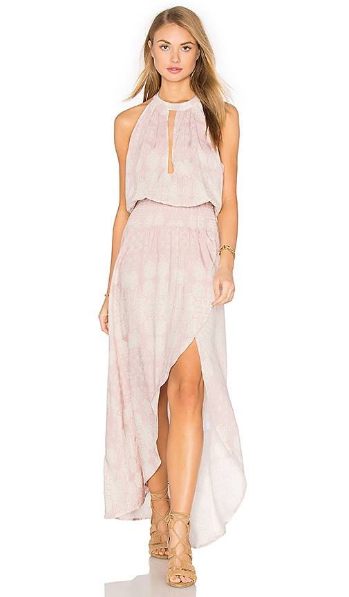 Stillwater Tie It Back Dress in Blush