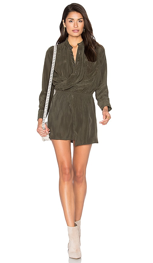 Stillwater X Front Dress in Olive