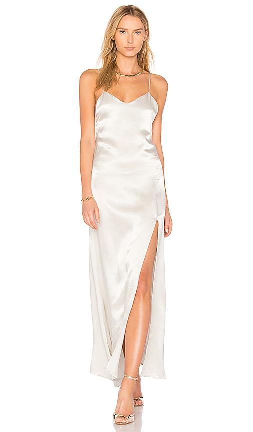 STILLWATER Kate Slip Dress in Gray