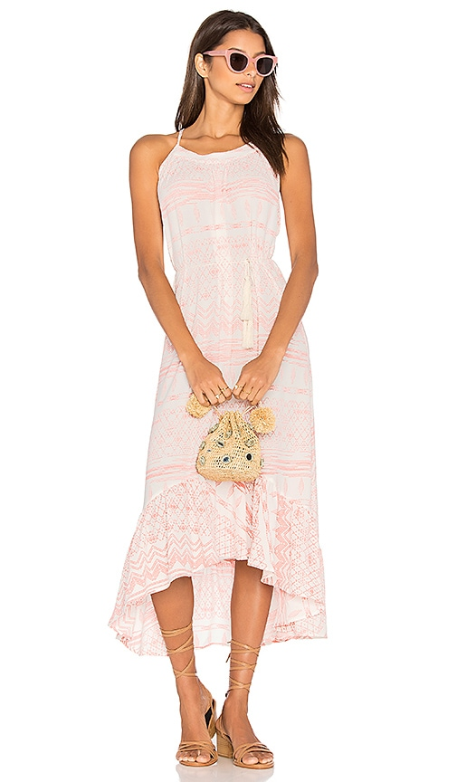 Stillwater Cabo Bound Hi Lo Dress in Pink