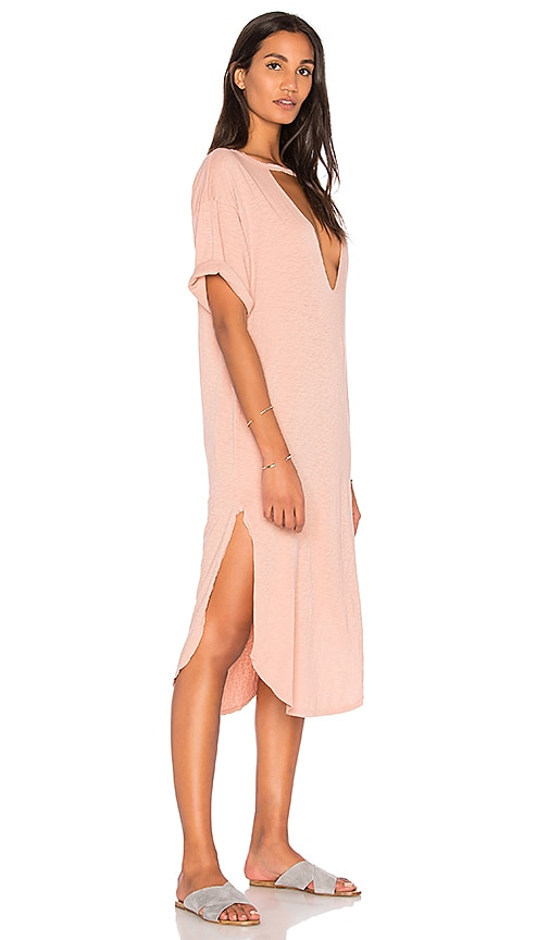 Stillwater Lana Rose Tee Dress in Blush
