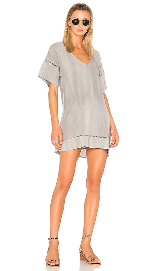 Stillwater Twilight Pocket Tunic Dress in Gray