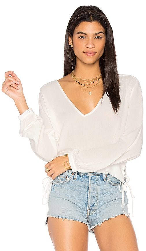 Stillwater Wilder Top in White