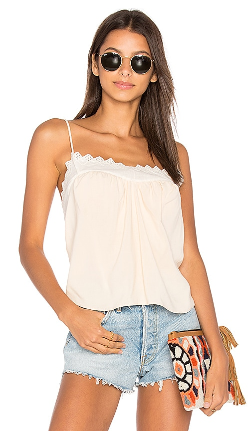 Stillwater Lace Cami in Pink