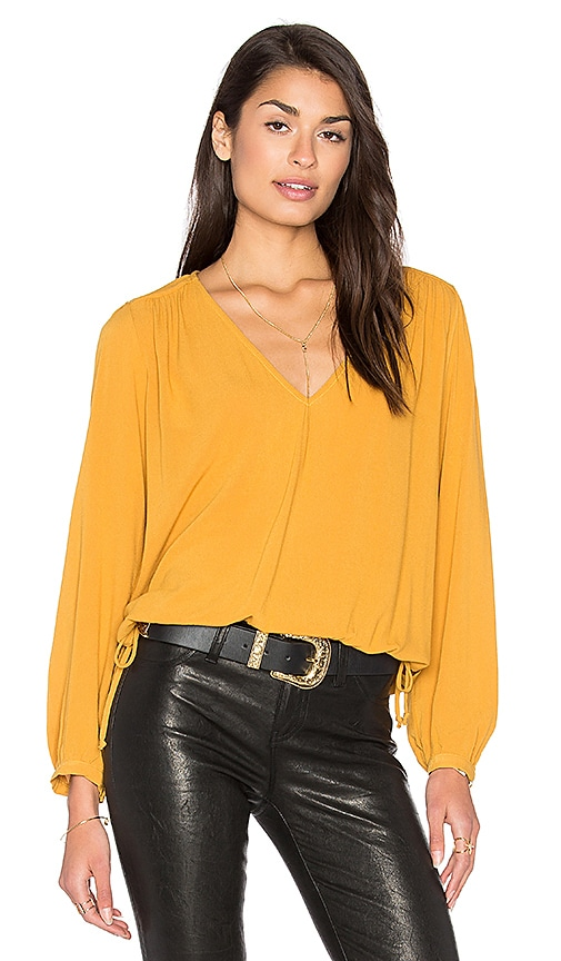 Stillwater Wilder Top in Mustard