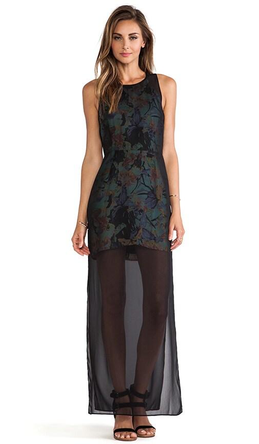 Delphinium Over Lay Dress