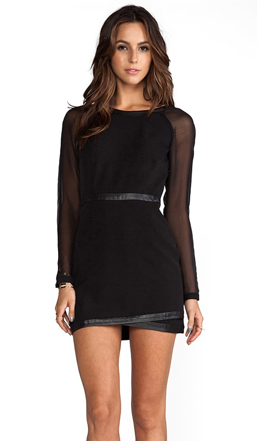 Eveleigh Wrap Mini Dress