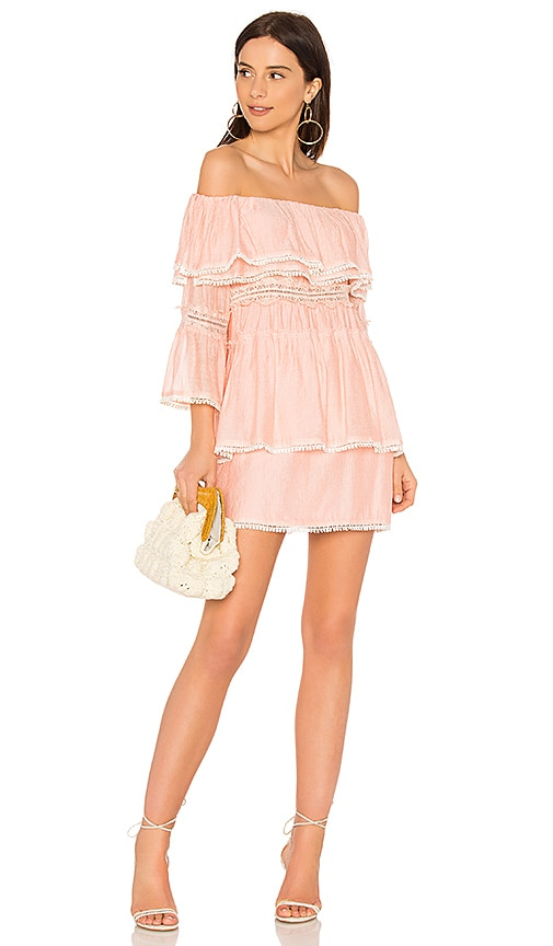 Suboo Roam Free Dress in Coral
