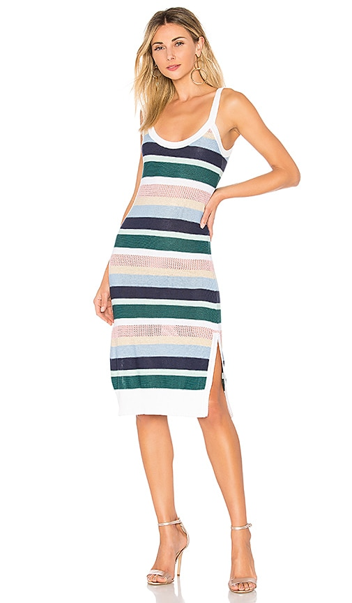 Suboo Paradiso Knit Tank Dress in Green
