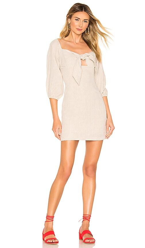 Wanderer Tie Front Mini Dress