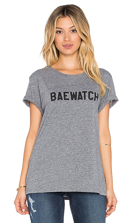 Sub_Urban RIOT Loose Baewatch Tee in Heather