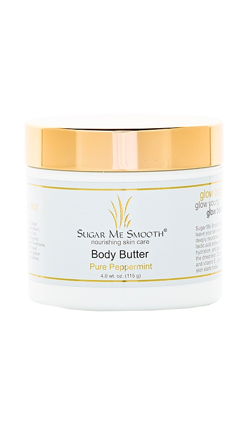 SUGAR ME SMOOTH PURE PEPPERMINT BODY BUTTER