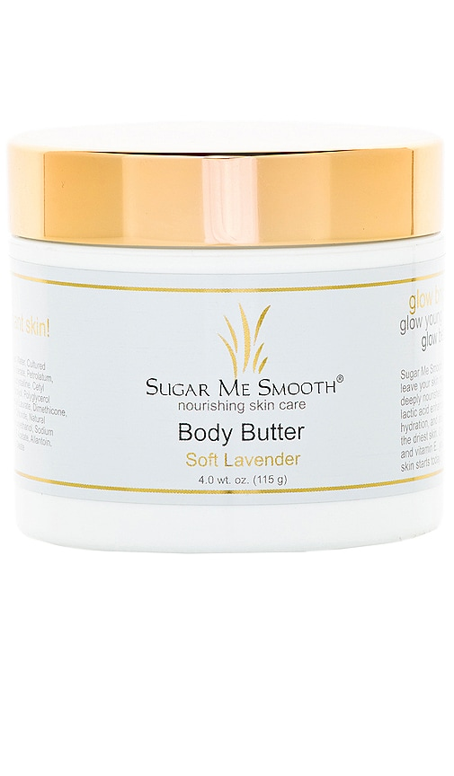 SUGAR ME SMOOTH Soft Lavender Body Butter in Beauty: Na
