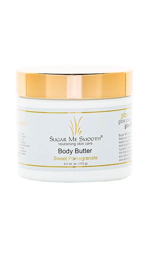 SUGAR ME SMOOTH SWEET POMEGRANATE BODY BUTTER