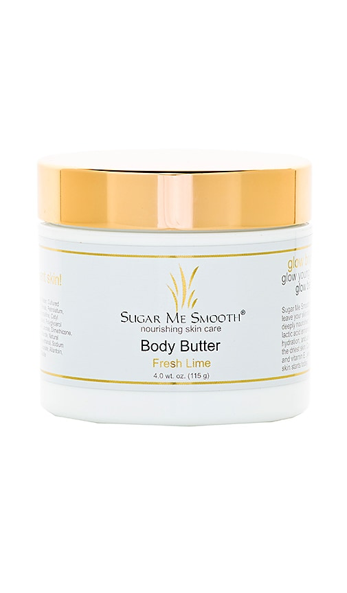 SUGAR ME SMOOTH Fresh Lime Body Butter in Beauty: Na