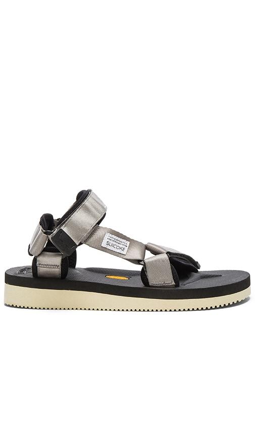 Suicoke DEPA-V2 Sandal in Gray
