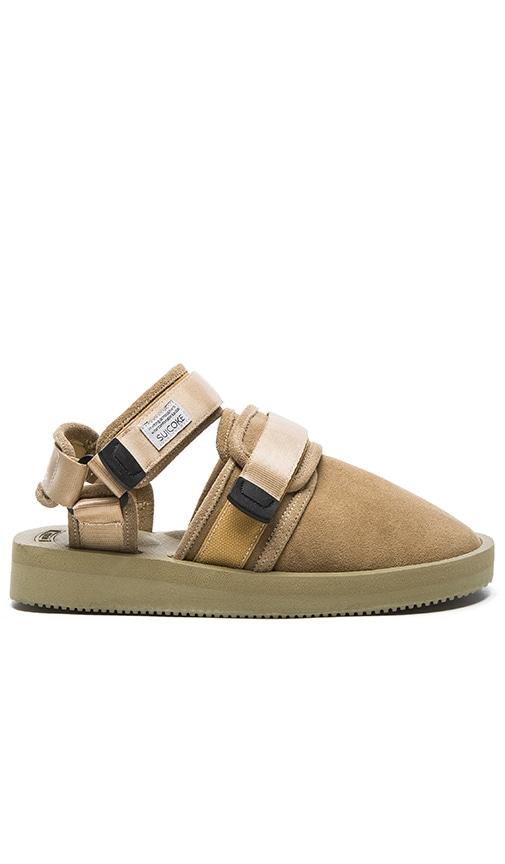 Suicoke NOTS-VS Sandal in Beige