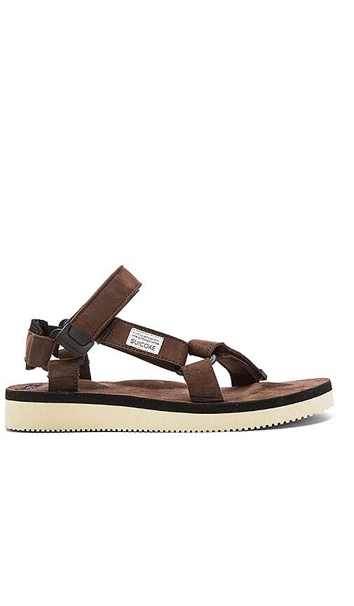 98ad9453ad82 Suicoke DEPA-ecs Sandal in Brown