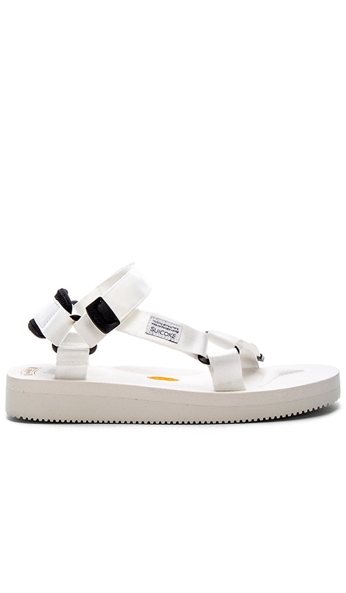 Suicoke DEPA-V Sandal in White