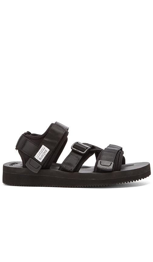 Suicoke KISEE-V Sandal in Black