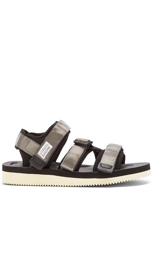 Suicoke KISEE-V Sandal in Grey
