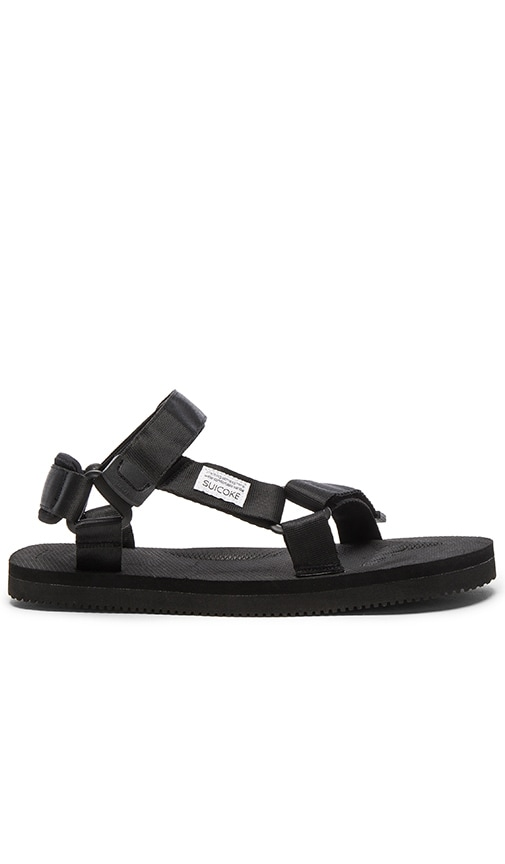 Suicoke DEPA Sandal in Black