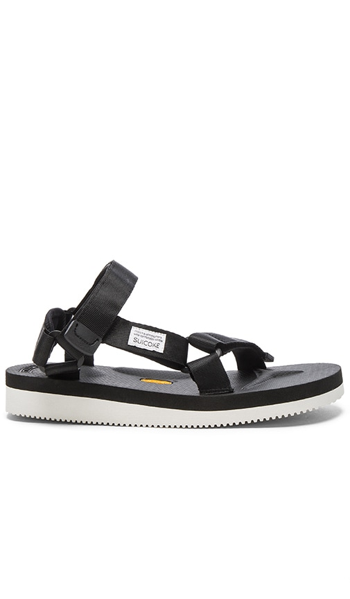 Suicoke DEPA-V Sandal in Black
