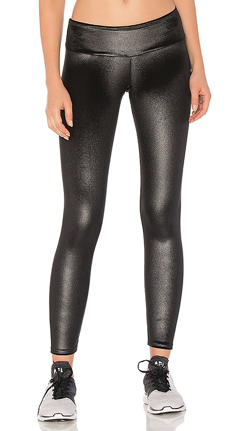 Sukishufu The Hustle Velvet Leggings in Black