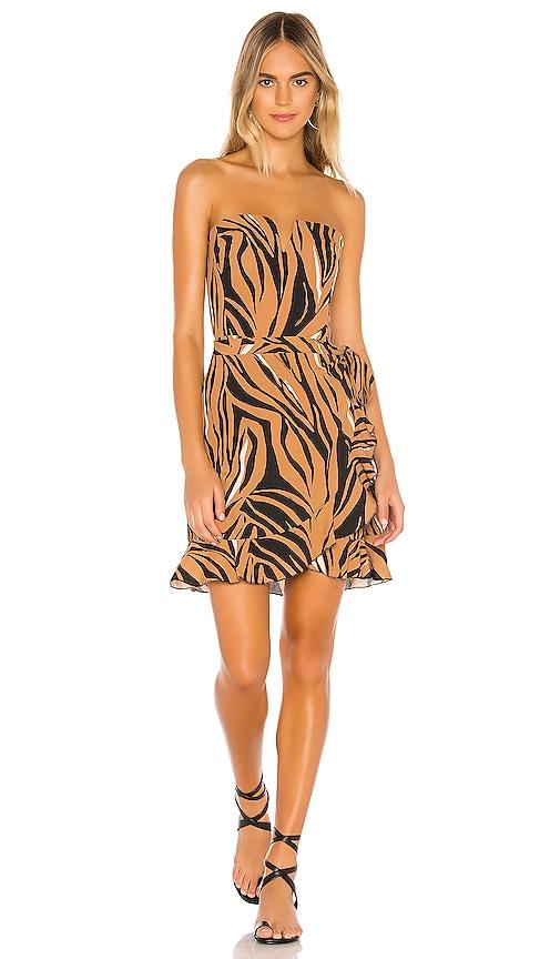 Bustier Wrap Dress