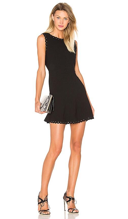 SUNCOO Celine Dress in Black