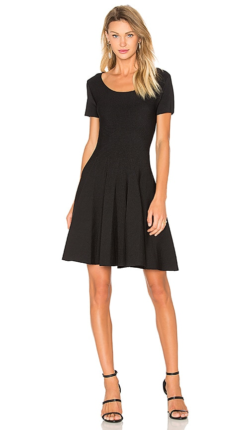 SUNCOO Cindy Dress in Black