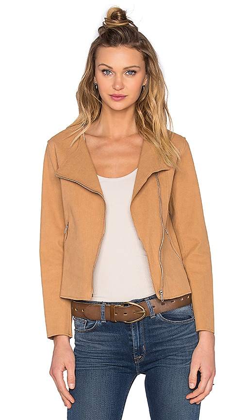 SUNCOO Dimitri Jacket in Tan