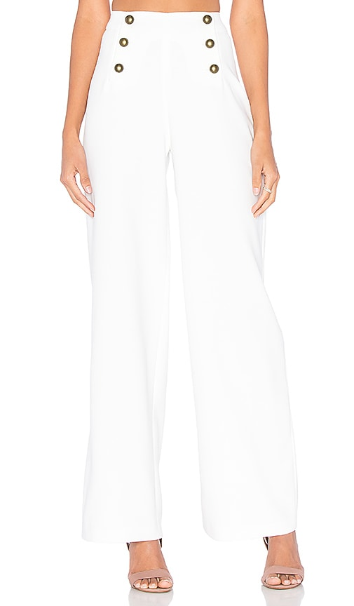 SUNCOO Jarod Pant in White