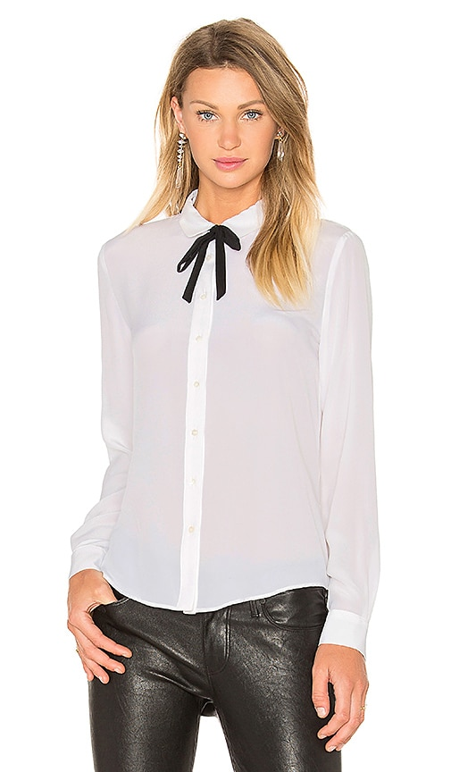 SUNCOO Lilian Blouse in White