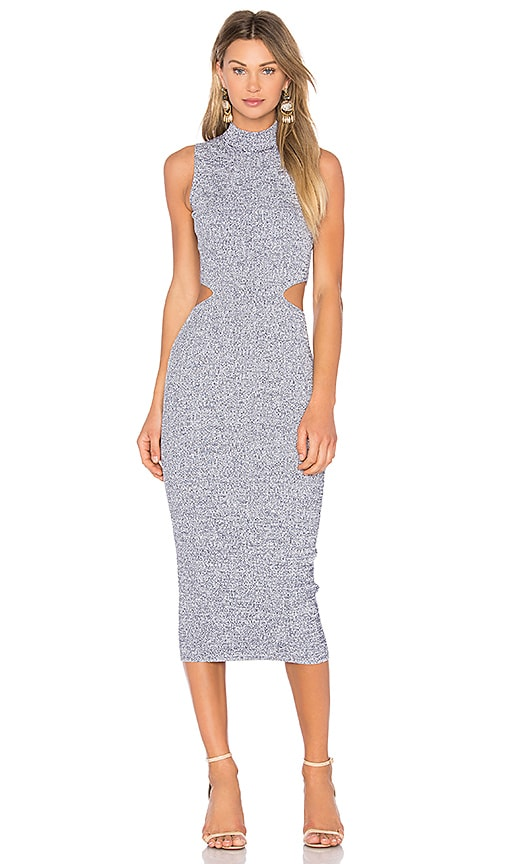 Melange Midi Dress