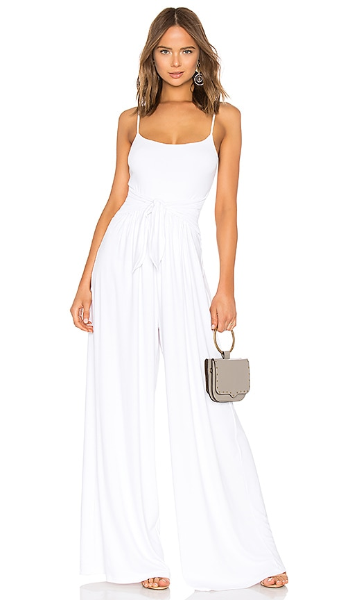 Susana Monaco Flowy Jumpsuit in White
