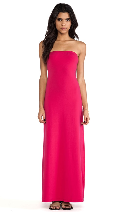 Helena Strapless Maxi Dress